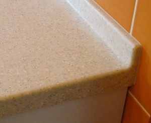 Kerrock Corian - backsplash